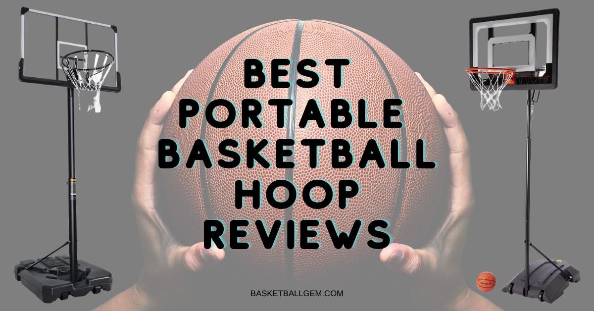 best portable basketball hoop for driveway, backyard, home